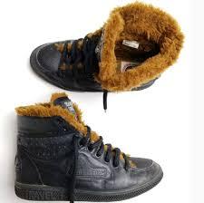 Travel fox shoes sz 6 black boots tennis faux fur poshmark