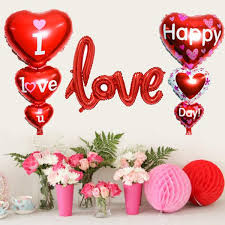 big valentines day 3pc 93cm big i you foil balloons s day happy
