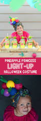 halloween costume lights pineapple princess light up halloween costume the crafting