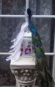peacock wedding cake topper my vintage peacock theme wedding what do you think