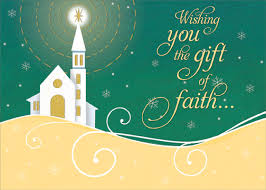 shining star gift of faith box of 18 religious christmas cards by