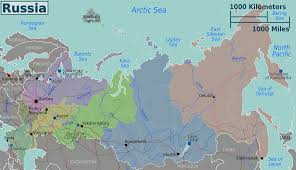 Barents Sea Map Map Of Russia Overview Map Russia Worldofmaps Net Online