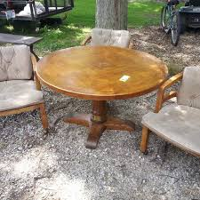 adjustable height round table find more drexel heritage oak adjustable height round dining table