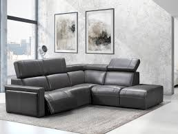 Salon En Cuir Design Italien by Via Furniture