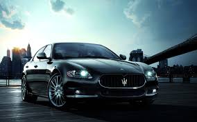 luxury sports cars maserati quattroporte luxury sports car widescreen wallpaper