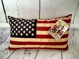 american flag pillow 4th of july decorations usa decor