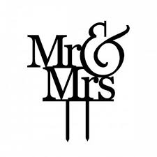 cake toppers mr u0026 mrs u2013 charmerry