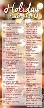 holiday bucket list buckets holidays and christmas 2017
