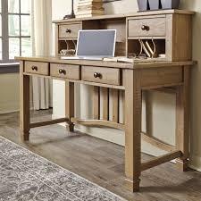 Signature Design By Ashley Trishley Desk  Hutch Wayside - Ashley office furniture