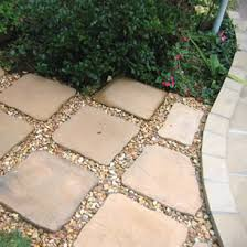 Done Deal Patio Slabs Love The Idea Of Using Recycled Concrete And Pea Gravel For A