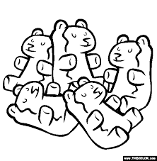 gummi bears coloring free gummi bears coloring
