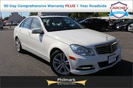 mercedes warranty information 2012 used mercedes c class luxury pkg navigation heated front