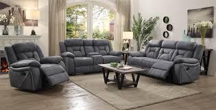 Reclining Sofa Microfiber by Reclining Sofas