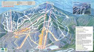 Mt Hood Trail Map In Defense Of East Coast Skiing Penn U0027s Woods