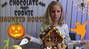 halloween haunted house chocolate cookie kit trader joe u0027s youtube