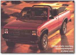 dodge shelby dakota dodge dakota mid sized trucks 1987 1996
