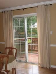 sliding glass door theres a window covering for that welcome