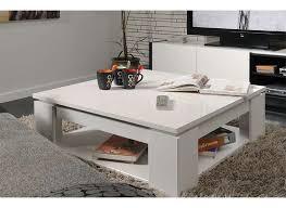table basse carrée blanche casa