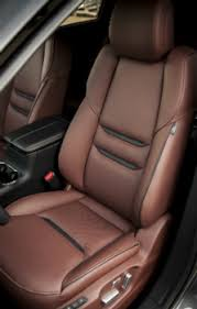 Used Cars With Leather Interior Leather Seats Cloth Versus Leather Seats Leather Interiors Autos