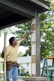 Decorative Column Wraps Step By Step Installing Urethane Column Wraps Buildipedia