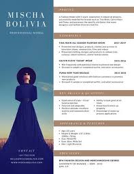 Mis Resume Samples by Brown Model Photo Resume Templates By Canva