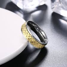 silver nice rings images Nice silver and gold titanium rings for men lajerrio jewelry jpg