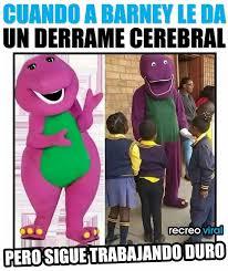 Barney Meme - meme a barney le dio derrame memes en internet crear meme com