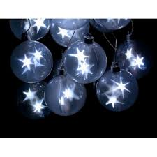 fortune sphere string light 6 orbs 18 white led stage