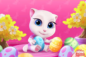 talking easter eggs talking angela on i really enjoy easter holidays are you