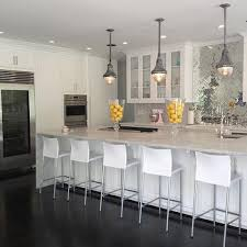mirror tile backsplash kitchen mirrored cooktop backsplash design ideas