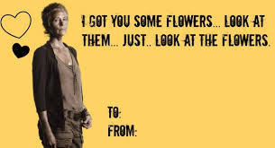 Walking Dead Valentine Meme - valentine s day cards for fans of the walking dead are hilarious
