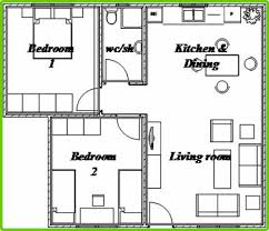Two Bedroom House Design Fashionable House Plans 2 Bedroom Bungalow 3 Two Floor Plan On