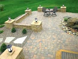 How To Paver Patio Paver Patio Landscaping Ideas Landscaping Ideas With Patio Design