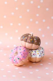 diy donut pumpkins mini pumpkins donuts and diy donuts