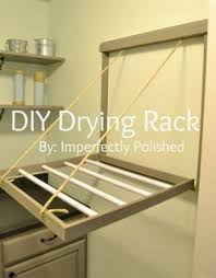 a drying rack that fits your bathtub so clothing can drip