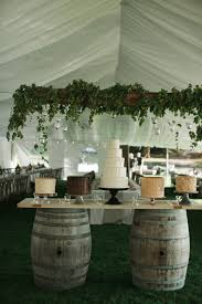 Wedding Cake Table Wine Barrel Wedding Cake Table Elizabeth Anne Designs The