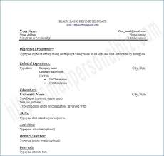 blank resume templates for microsoft word free printable resume templates microsoft word artemushka