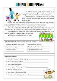 going shopping worksheet free esl printable worksheets made by
