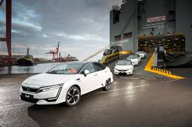 first honda first honda clarity fuel cell cars delivered in california next