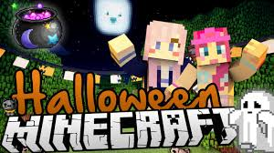 halloween carnival games trick or treating minecraft halloween carnival map youtube