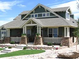 fresh craftsman house plans one story architecture nice
