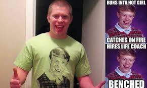 Boy With Braces Meme - kyle craven in bad luck brian meme reveals how fame scored him
