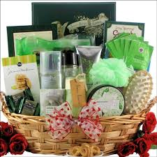 spa gift baskets baskets for women relaxation gift per gifts