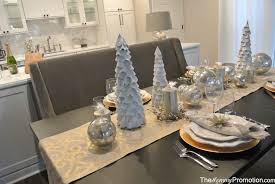 gold and silver christmas tablescape u2013 featuring world market