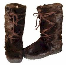 s boots with fur s beaver fur boot fur boots fur and apres ski boots