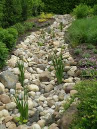 Fall Landscaping Ideas by Perennials Planted In The Fall Along The Dry Creek Bed Are