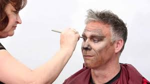 wolf halloween costume for men timelapse transformation werewolf makeup by oriental trading youtube