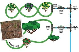 drip irrigation systems instead of sprinklers for water