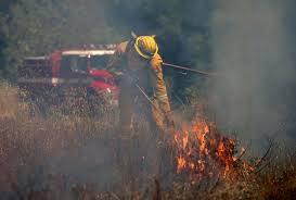 Ca Wildfire Training by Pooping Cyclist Blamed For Starting 73 Acre Forest Fire Aol News