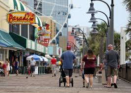 Myrtle Beach Boardwalk Map After Shooting Video Goes Viral Myrtle Beach Struggles With Crowd